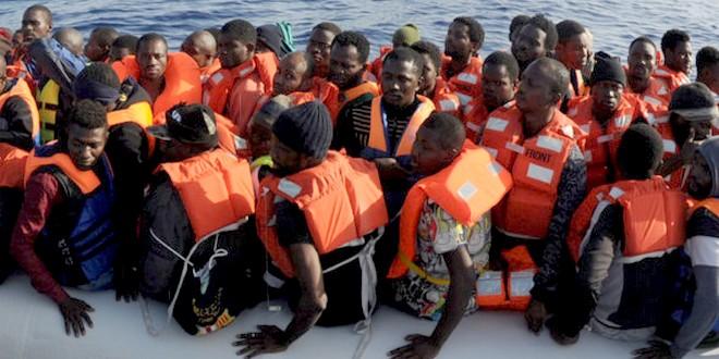 Migrants sauvetage mer