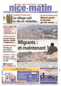 Nice-Matin Migrants Maintenant 25 février 2018