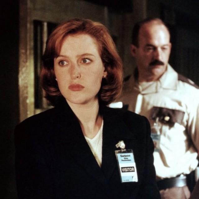 X Files Gillian Anderson Dana Scully