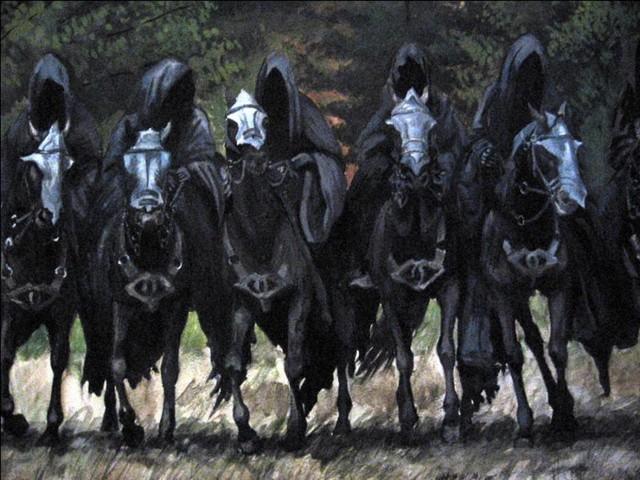 Cavaliers noirs Seigneur anneaux