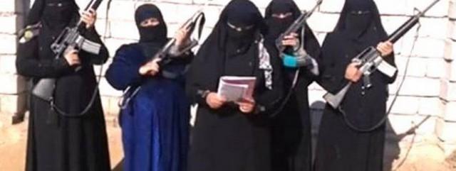 Djihadistes féminines