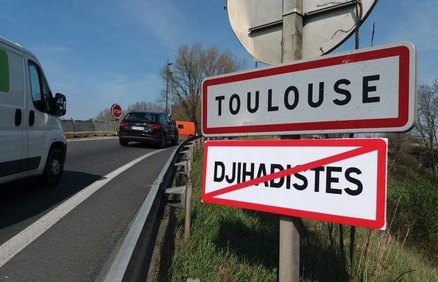 Djihadistes interdits Toulouse Génération Identitaire