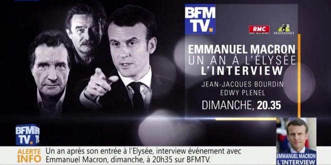 Emmanuel Macron interview Edwy Plenel Jean-Jacques Bourdin