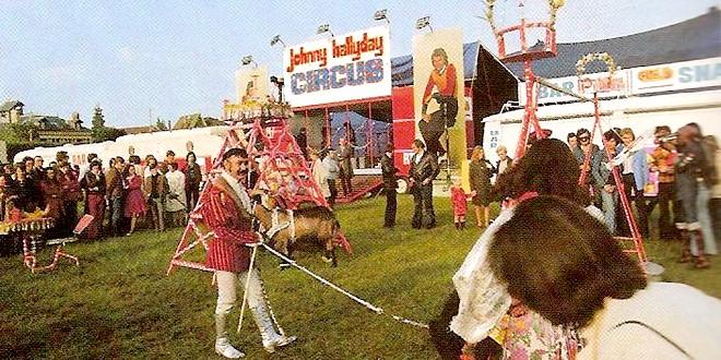 Johnny Hallyday Circus