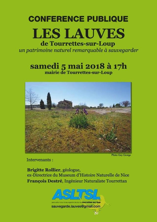 Lauves Tourrettes-sur-Loup conférence