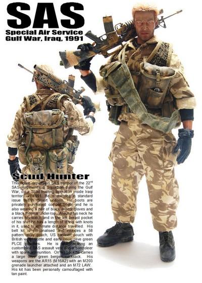 SAS commandos britanniques