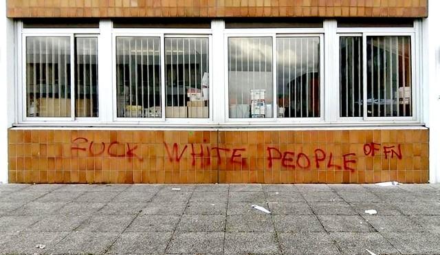 Fuck white people