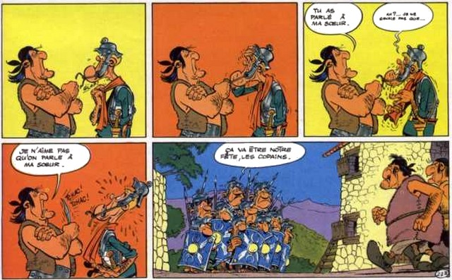 Asterix Corse Sœur