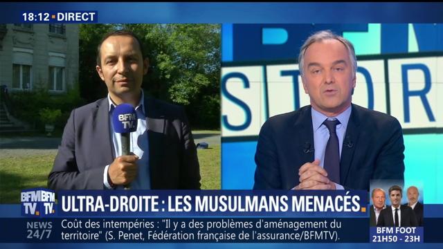 BFM Ultra-droite musulmans menacés
