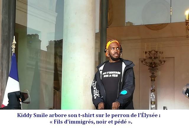 Kiddy Smile « Fils d'immigrés, noir et pédé ».