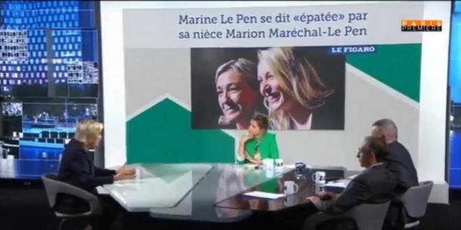 Marine Le Pen Zemmour Naulleau 30 mai 2018 Immigration irréversible