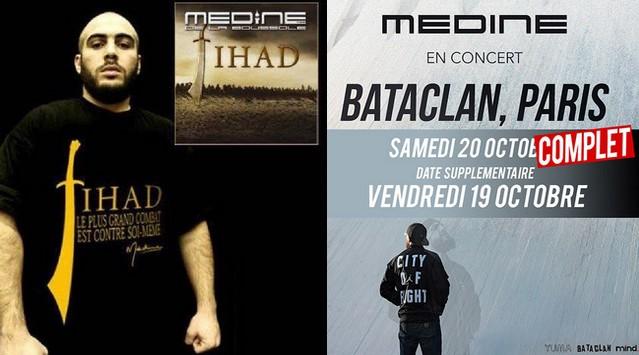 Médine concert Bataclan