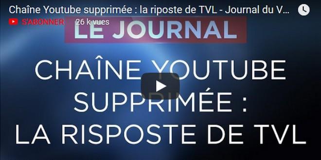 TV Libertés censure YouTube