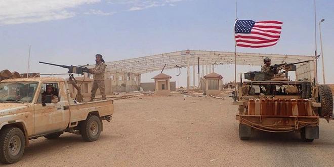Base militaire américaine Al-Tanf Syrie