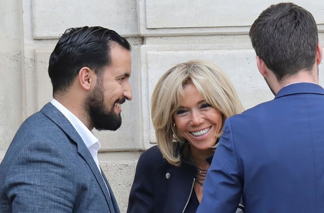 Brigitte Macron Lahcene Benalla
