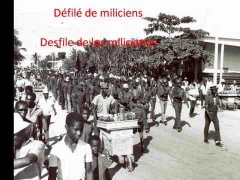 Défilé miliciens