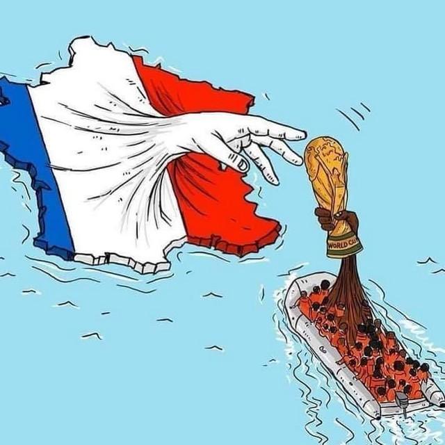 France Champions monde émigrés Afrique