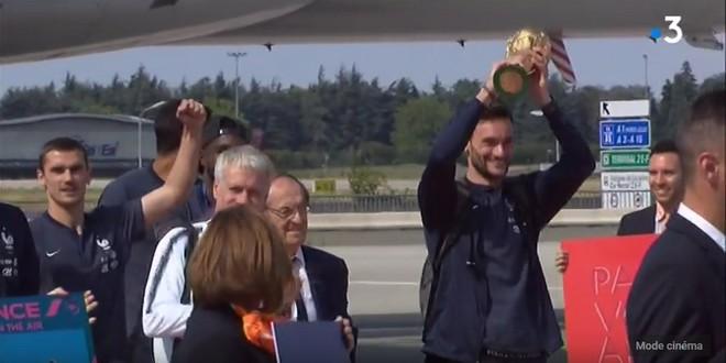 Hugo Lloris champion Monde 2018