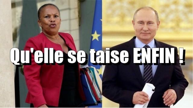 Taubira Poutine
