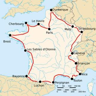Tour France 1922