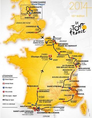 Tour France 2014