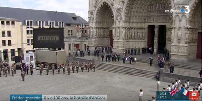 Amiens cérémonie centenaire bataille Amiens