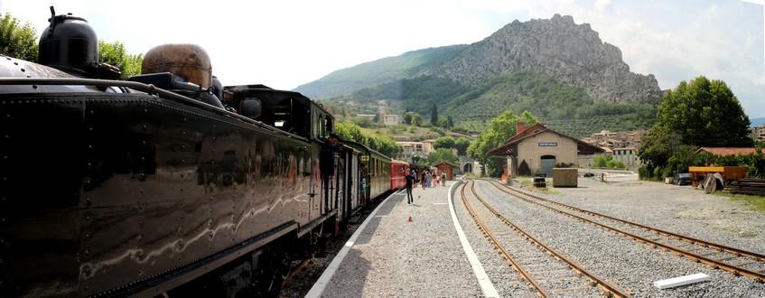 Train Pignes Entrevaux