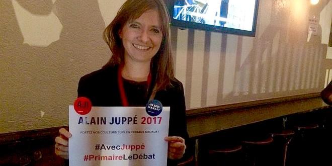 Aurore Bergé pro-Juppé