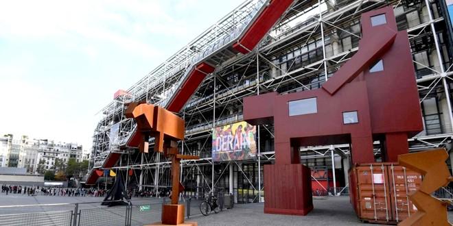 Joep Van Lieshout Domestikator Centre Pompidou