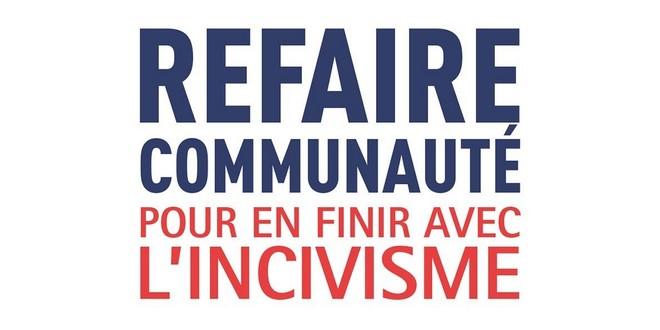 Refaire communauté Pour finir incivisme Jean-Michel Arnaud David Lisnard