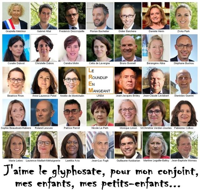 Deputés En Marche vote Glyphosate