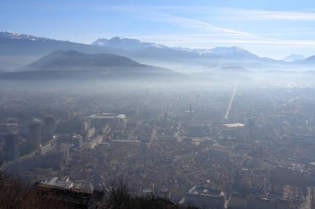 Grenoble pollution