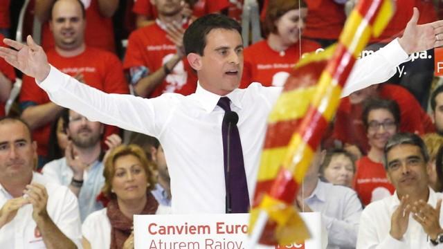 Manuel Valls candidat Barcelone