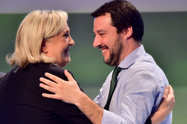 Matteo Salvini Marine Le Pen