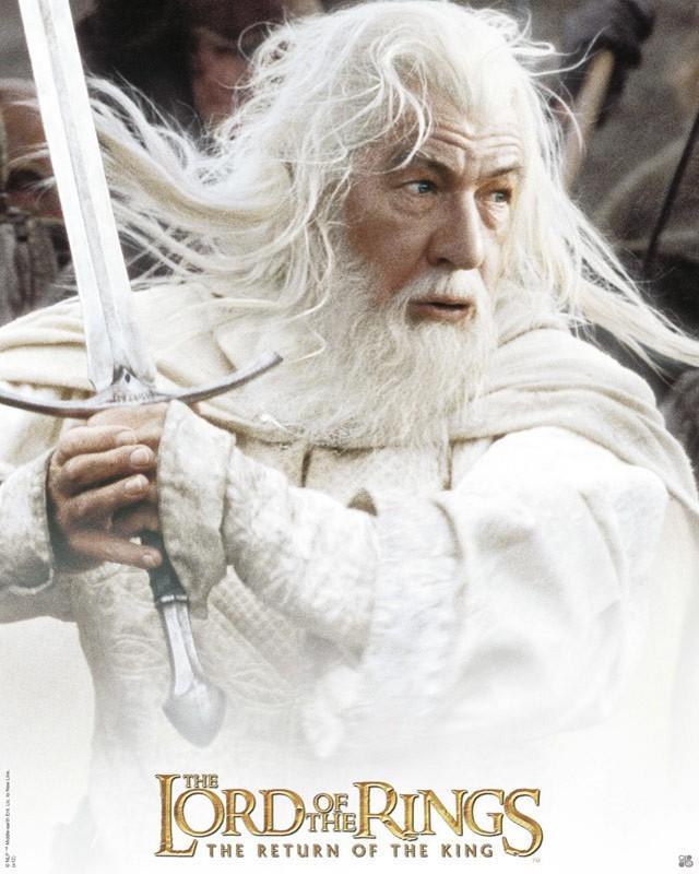 Seigneur anneaux Gandalf Blanc