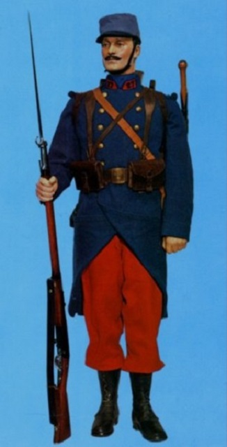 Uniforme fantassin 1914