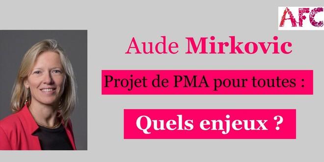 Conférence d'Aude Mirkovic: résumé + éléments de discernement