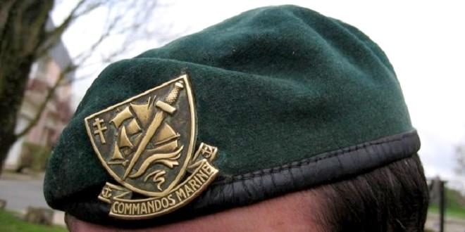 Les bérets verts des commandos marine