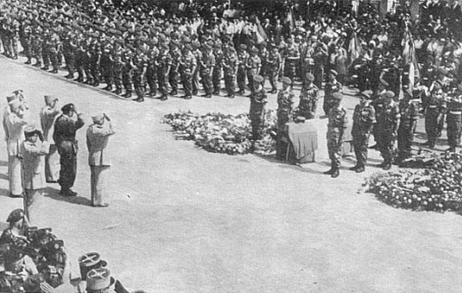 Hommage au lieutenant-colonel Jeanpierre