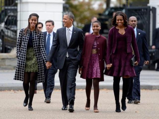 Barack Obama famille