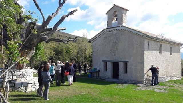 Chapelle Saint Julien Plateau de Dina