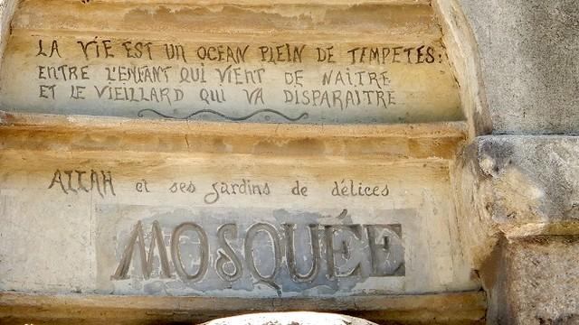 Facteur Cheval mosquée