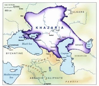 Khazarie carte