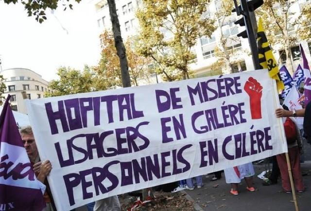 Manifestation hopital Rennes