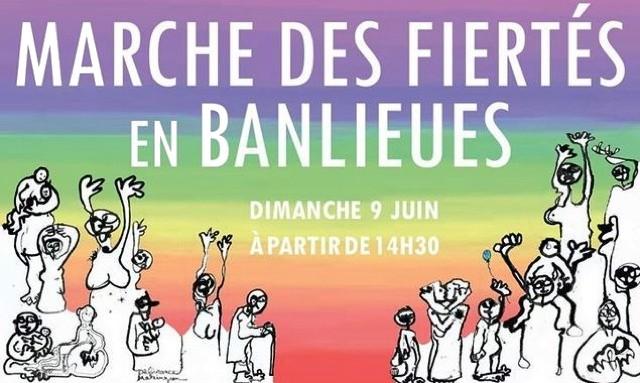 Marche fiertes banlieues 9 juin 2019