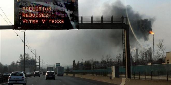 Pollution Réduisez votre vitesse