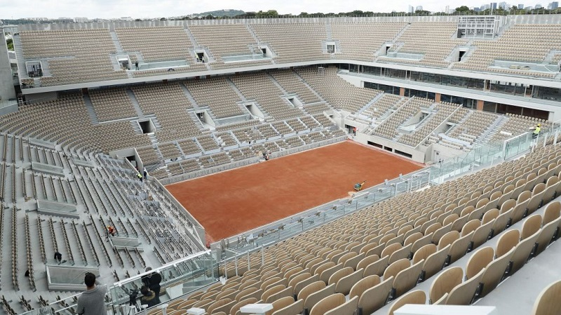 Roland Garros court Chatrier