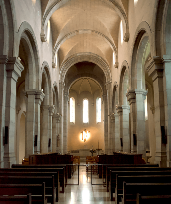 Abbaye Saint Honorat église