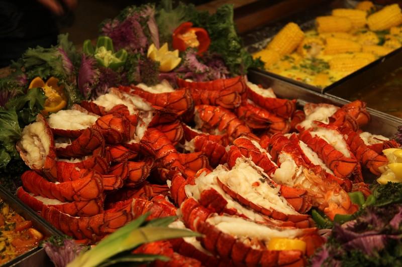 Buffet homards