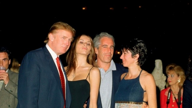 Donald Trump - Jeffrey Epstein
